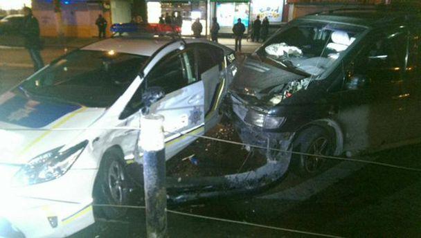 Аварія за участю патрульних