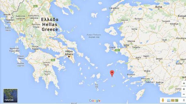 Военный вертолет разбился в Греции: есть погибшие