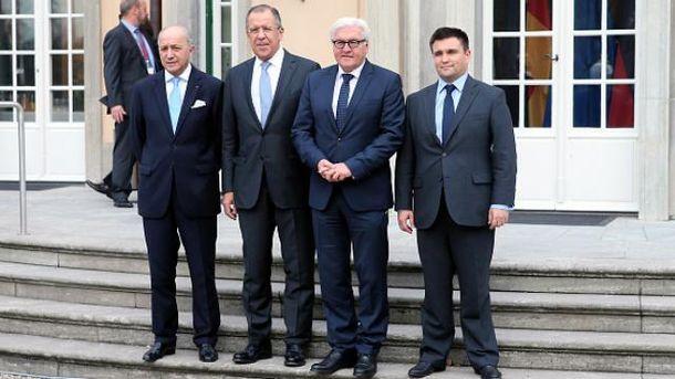 Встреча министров МИД в нормандском формате