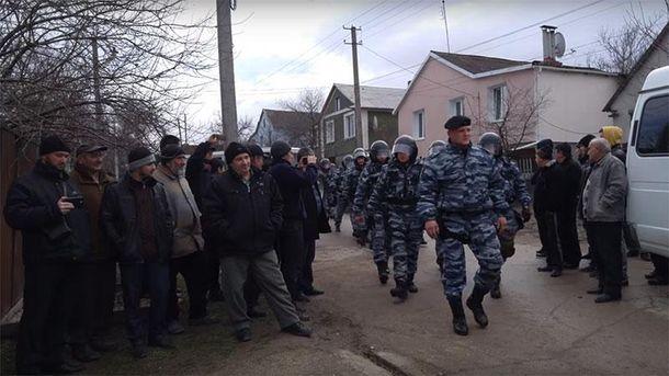 Затримання кримських татар у Криму