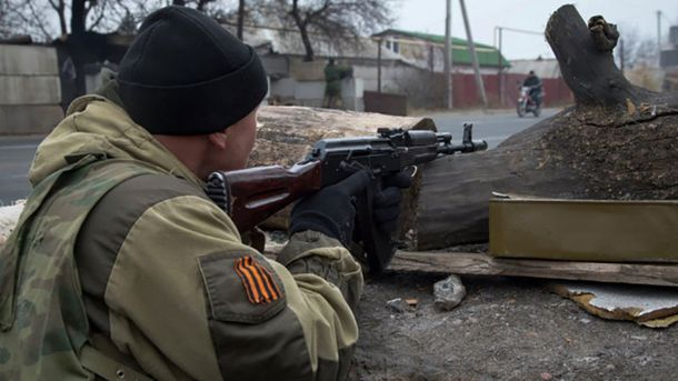 Терористи обстріляли позиції АТО