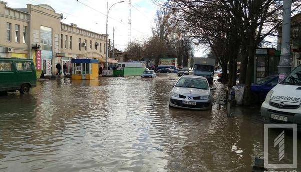 Затопление в Одессе