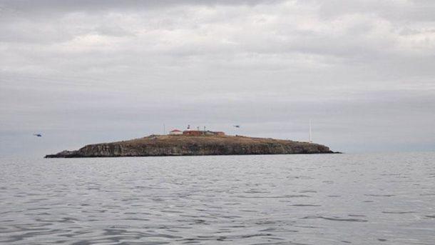 Остров Змеиный