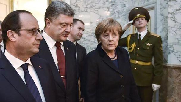 На переговорах в Минске