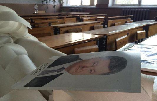 Портрет Президента у школі