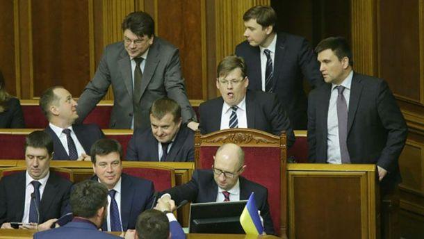 Кабинет Министров в парламенте