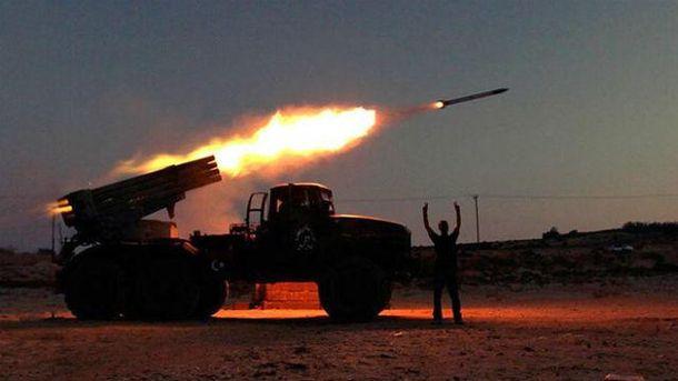 Террористы подтянули танки и