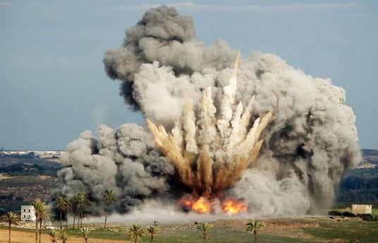 Бомбардировка Сирии