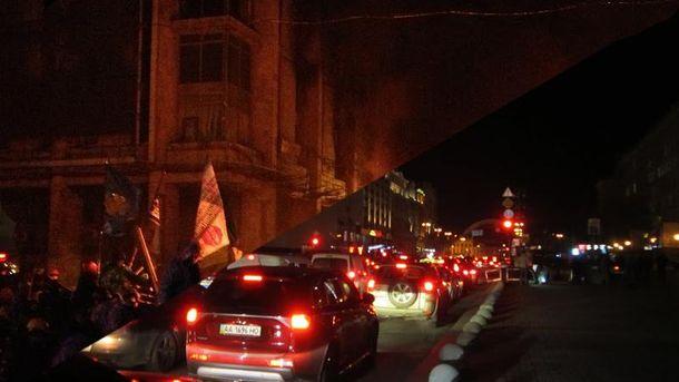 Майдан-2014 у вогні — Майдан-2016 у вогнях: фотопорівняння
