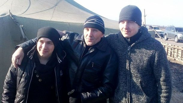 Звільнені українські військові