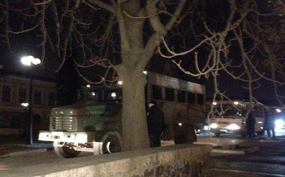 Загони Національної гвардії у центрі столиці