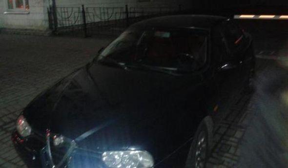 Автомобиль бойцов самообороны Киева