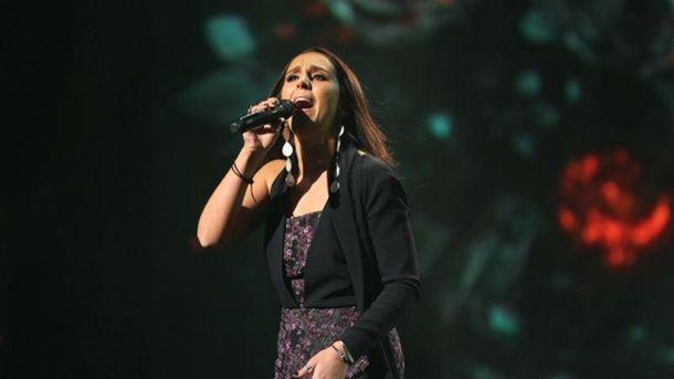 Джамала во время выступления на отборе к Евровидению-2016