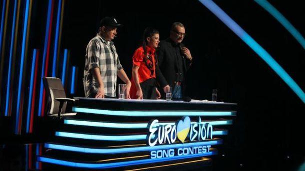 Украина выбирает самого достойного представителя на Евровидение онлайн-трансляция