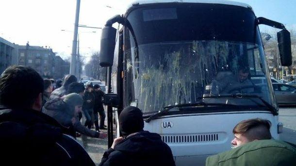 Акція протесту у Запоріжжі