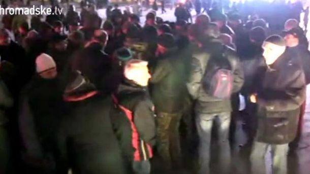 """Рожи — в лучших традициях """"антимайдана"""", — волонтер о радикалах на Майдане"""