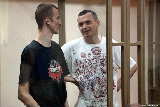 Українські політв'язні Кольченко і Сенцов