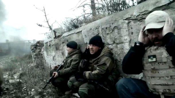 Украинские бойцы в зоне АТО