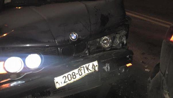 Машина після аварії