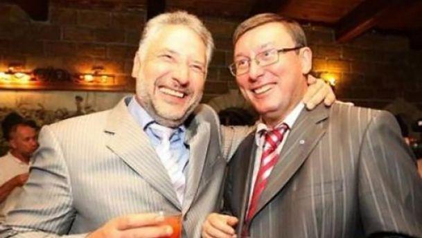 Павел Жебривский и Юрий Луценко