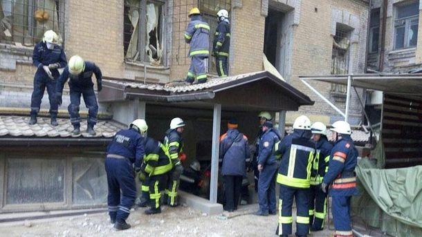 Обвалений будинок на Хмельницького