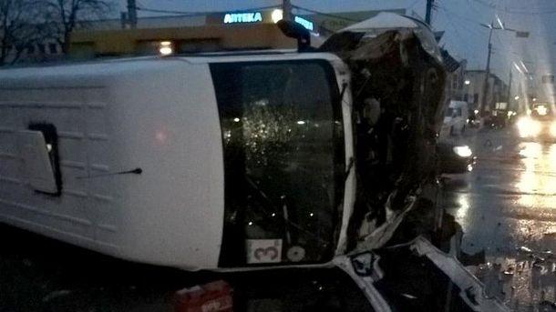 На місці аварії у Кременчуці
