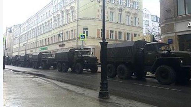 У Москві стягнули техніку