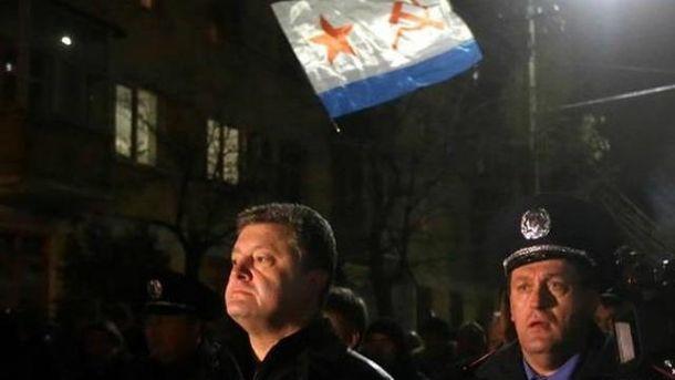 Петр Порошенко в Крыму