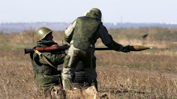 Боевики обстреляли мобильную группу