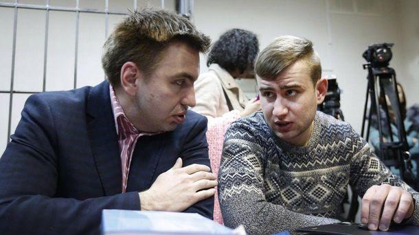 Ростислав Храпачевський (справа)