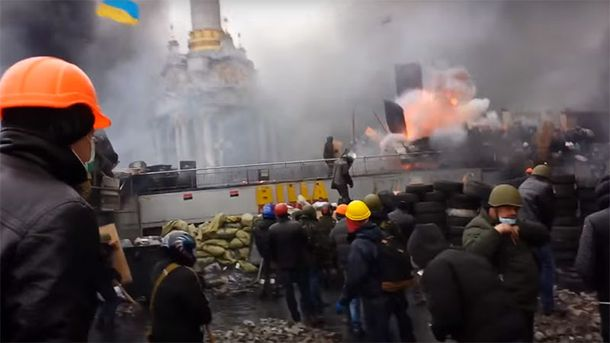 Взрыв на Майдане