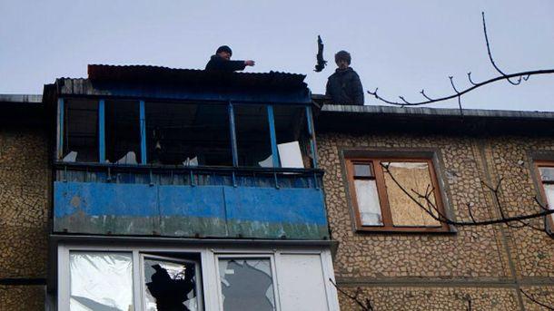 Руйнування на Донбасі