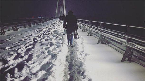Снігопад у Москві