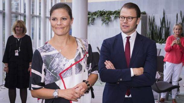 Кронпринцеса Вікторія з принцом Даніелем