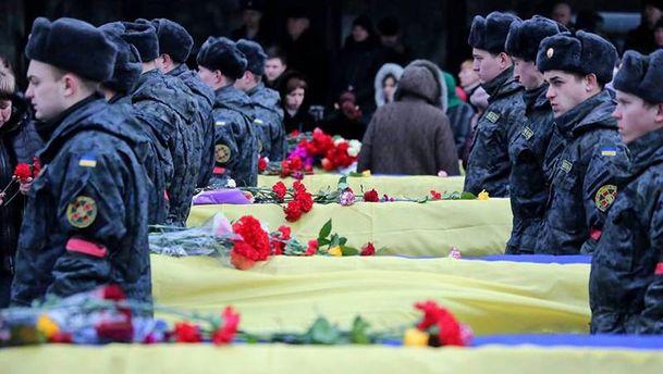 Похорон невідомих бійців