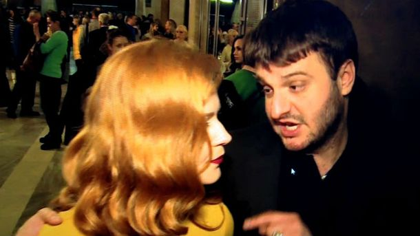 Журналистка и Александр Аваков