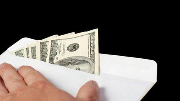 Конверт з доларами