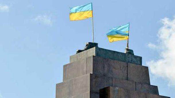 Постамент в Харькове