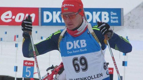Биатлон. Семенов завоевывает первую медаль для Украины на чемпионате мира