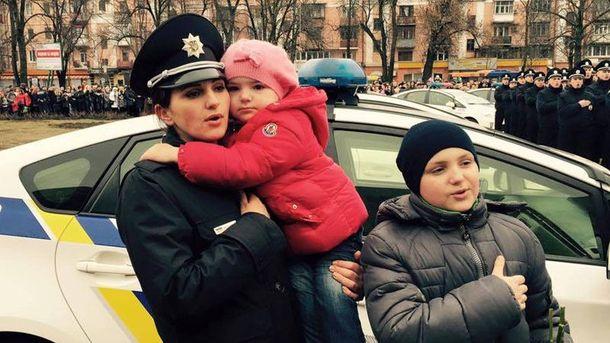 Новая полиция в Полтаве