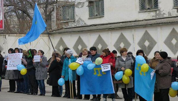 Митинг в Крыму 2 года назад