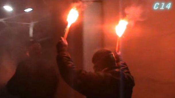 Беспорядки у посольства РФ