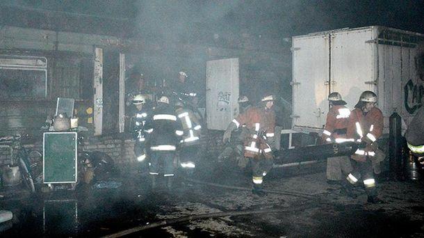 Пожежа у Дніпропетровську