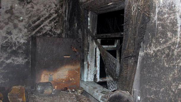 Будинок після пожежі