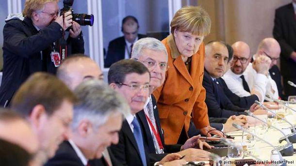 На саммите Евросоюз-Турция