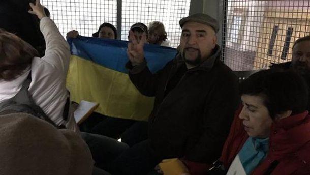 Задержанные активисты в Москве