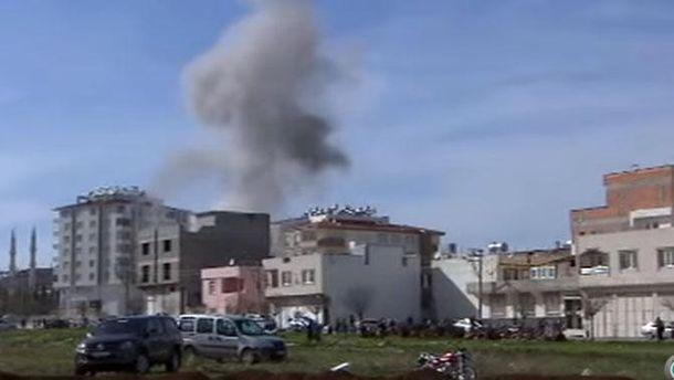 Вибух сирійського снаряду у Туреччині