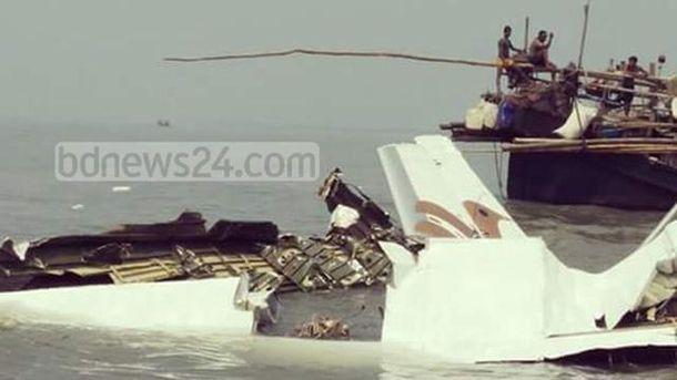 Авіакатастрофа з українцями у Бангладеш