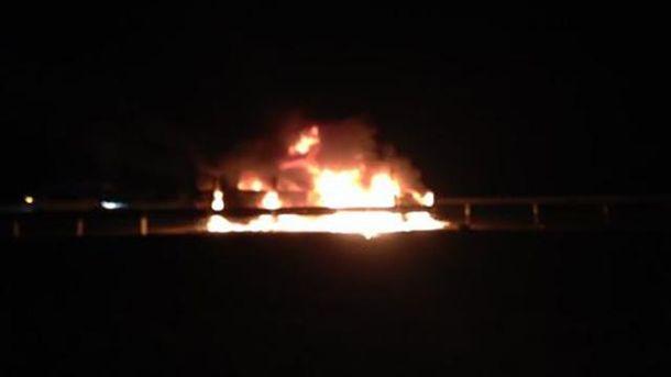 Спалили авто
