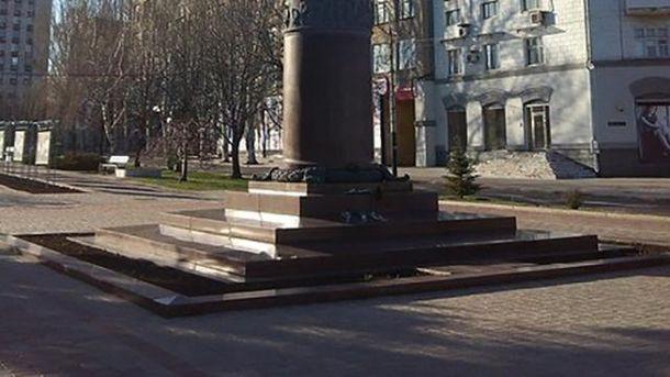 Памятник Тарасу Шевченко в Донецке